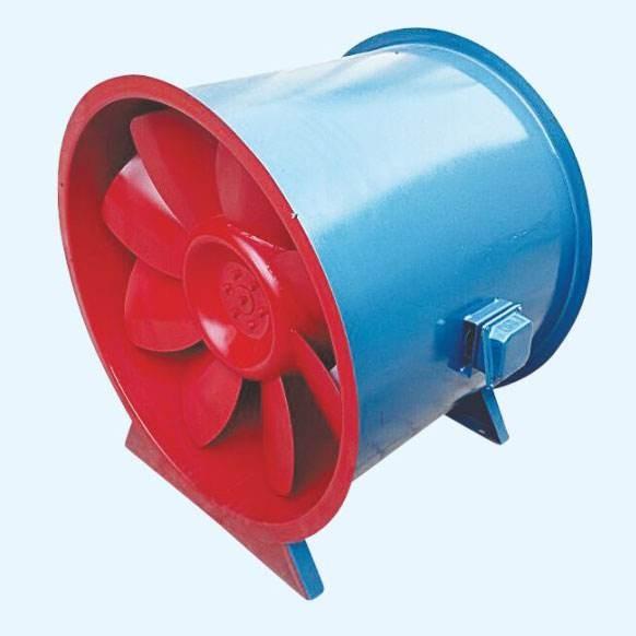 低噪声SWF混流式风机